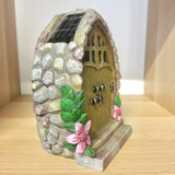 Solar Power Fairy House / Door