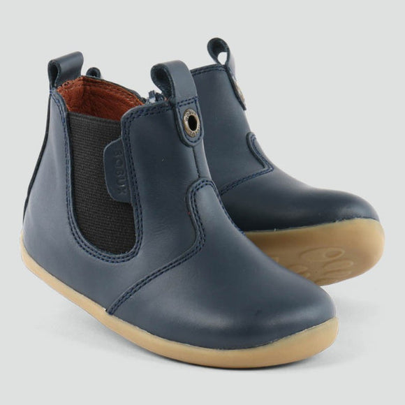 Bobux - Step Up - Jodphur Boots - Navy