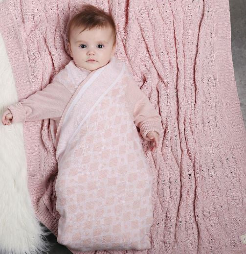 Jujo Baby - Shwrap - Diamond Blush Pink