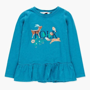 Boboli - Folk Peplum Top