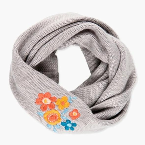 Boboli - Floral Embroidered Scarf