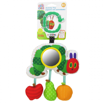 Eric Carle Very Hungry Caterpillar - Dangling Sensory Activity Toy