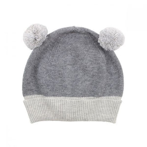 Bebe - Will Knit Beanie - Pewter