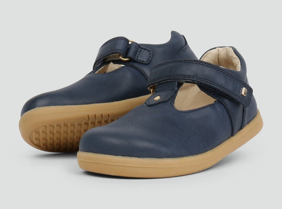 Bobux - I Walk - Louise T Bar - Navy