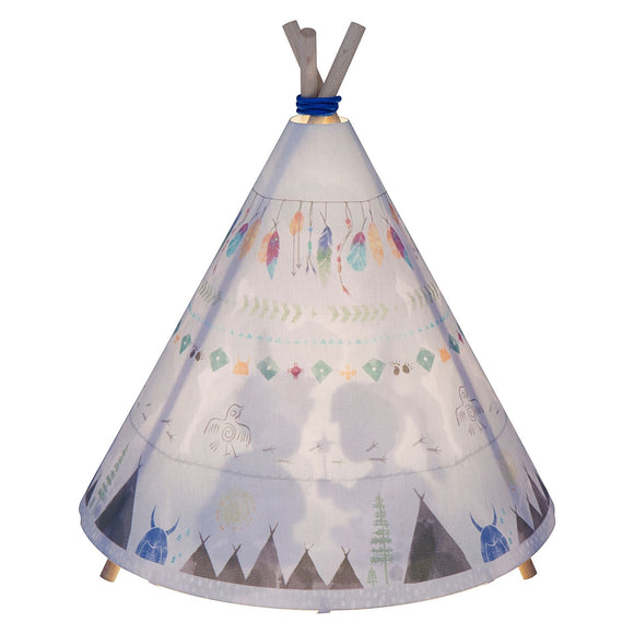Table Lamp - Teepee - Grey - PRE-ORDER (Due End Sept)