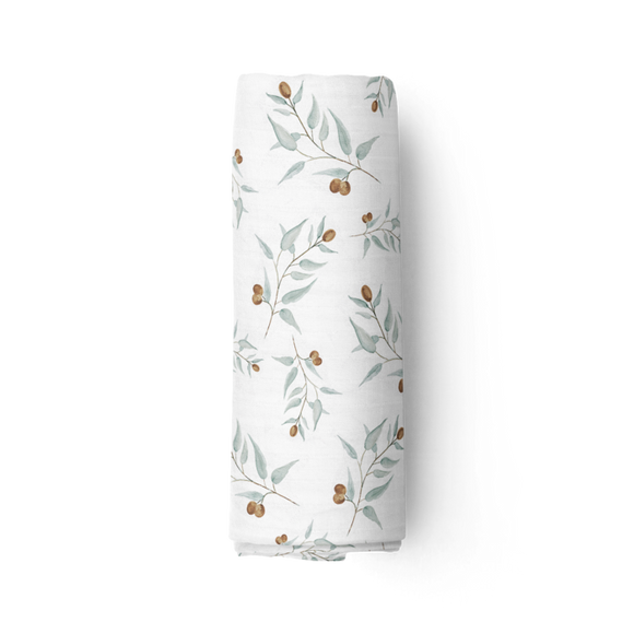 Piper Bug - Bamboo Muslin Swaddle Blanket - Ray
