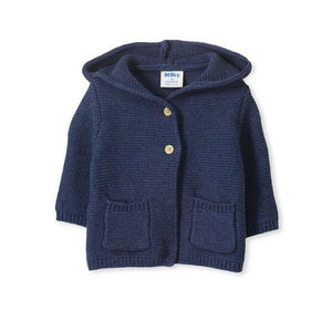 Milky - Baby Knit Jacket - Navy
