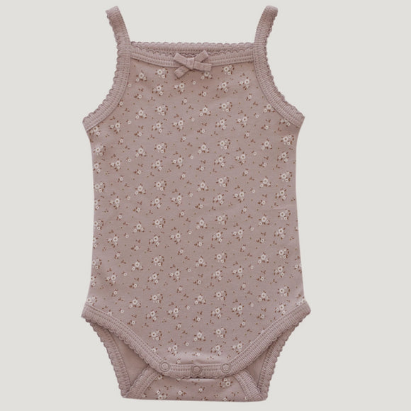 Jamie Kay Maple Drop 1 - Singlet Bodysuit - Lulu Floral Bloom