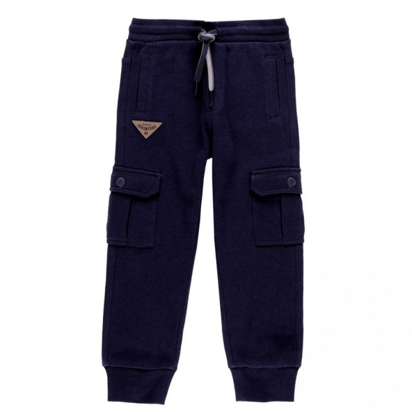 Boboli - Fleece Trackies - Navy