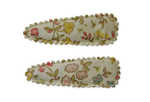 Pretty WIld Kids - Polly Twin Snap Clips - Danish Floral
