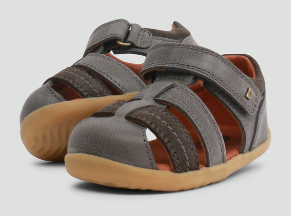 Bobux - Step Up - Roam Sandal - Charcoal