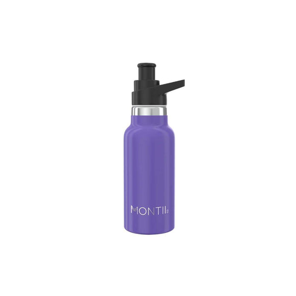 MontiiCo - Insulated Drink Bottles - 350ml - Purple