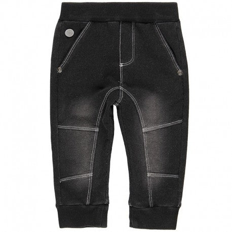 Boboli - Soft Denim Trackies - Black