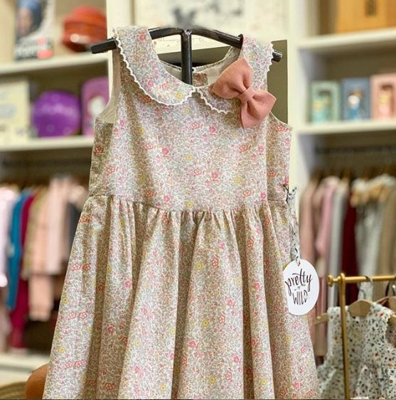 Pretty WIld Kids - Maria Dress - Katie & Millie Spring Flowers