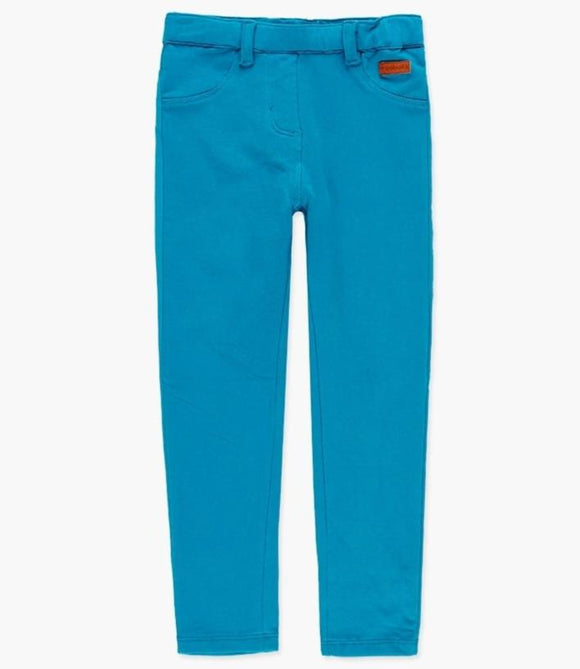 Boboli - Fleecy Stretch Leggings - Teal