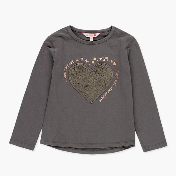 Boboli - Fluffy Heart Top