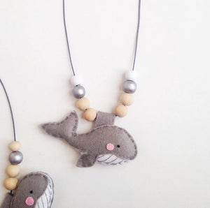 Cherished Whale Necklace