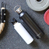 MontiiCo - Insulated Drink Bottle Mega 1lt - Black