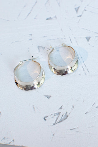 Sonya Earrings - Silver