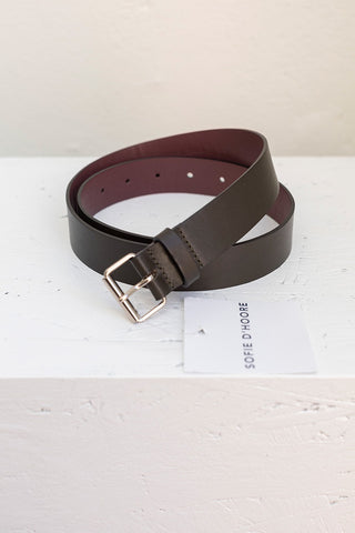 Virginia 30 Belt - Algae/Cherry