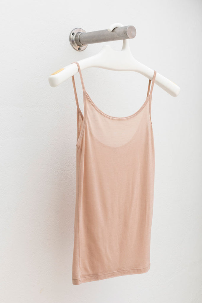 Bamboo Jersey Tank Top - Blush