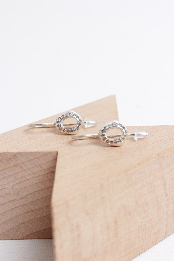 Dix Icy Gris Earrings
