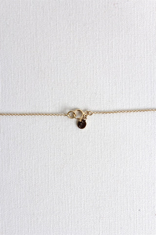 Medaillon Long Necklace - Vermeil