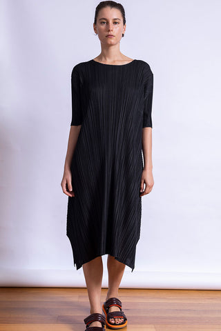 Mellow Pleats Dress