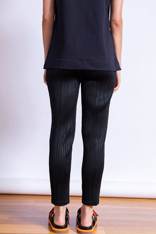 Monthly Colours Skinny Leg Pants - Black