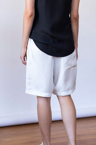 Puff Shorts - Off White