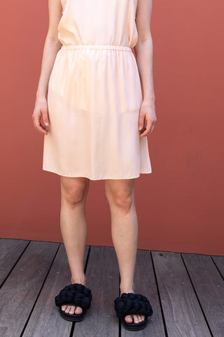 Silk Half Slip - Blush