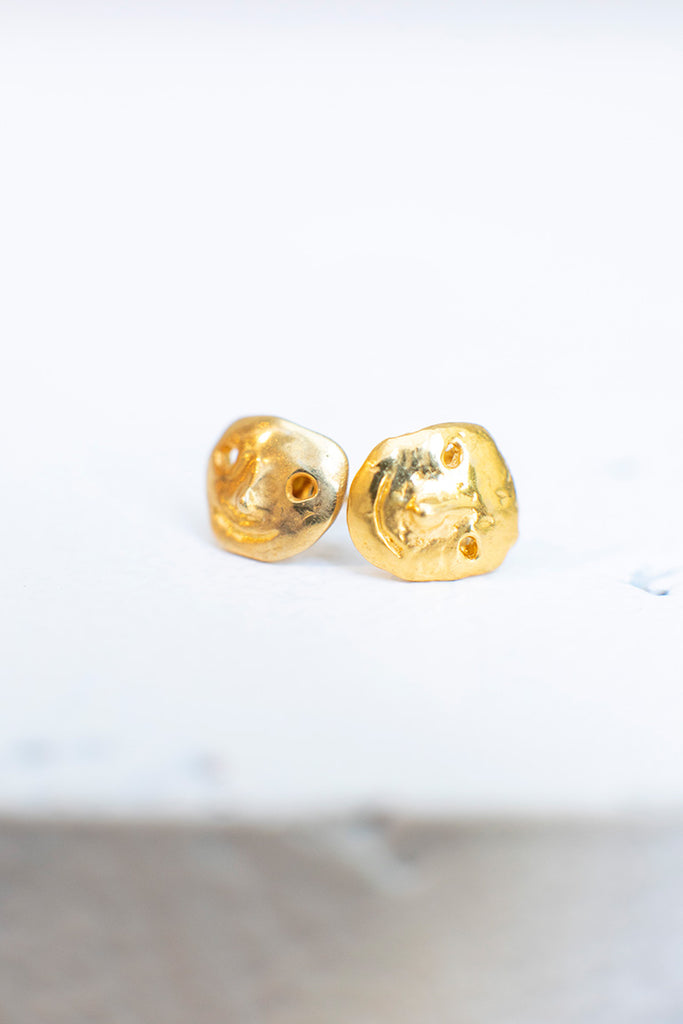 Street Life Earrings - Gold