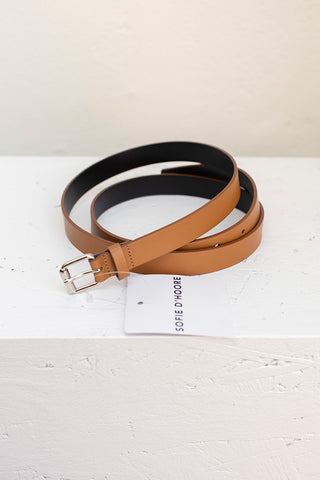 Virginia 20 Belt - Sand/Black