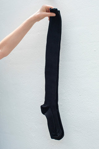 Over Knee Socks - Black