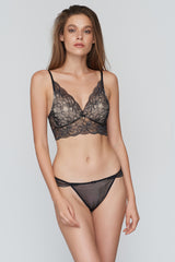 Sonya Triangle Long Bralette