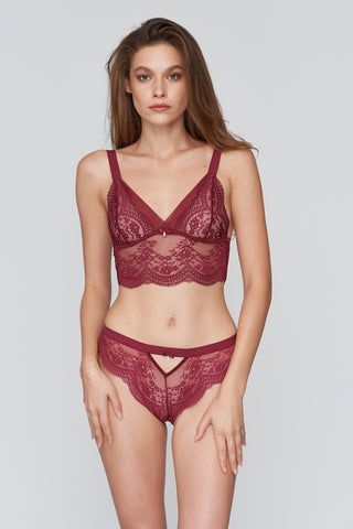 Doris Triangle Long Bralette