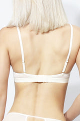 Charlotte Triangle Mold Bralette OFF WHITE