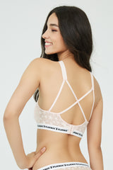 Starburst Strappy back Bralette