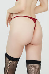 Janine Thong Red