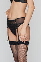 Black Magic GARTER BELT