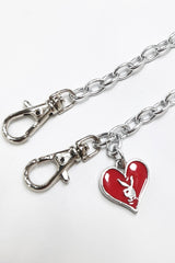 Bunny Mask Strap Red Heart  ♥