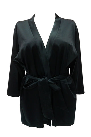 Kyra Nightwear Sexy Black ROBE