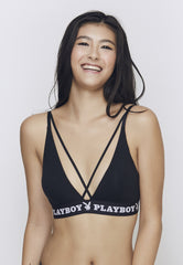 Playboy Intimates X-Cross WIRELESS Bra