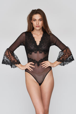 Harriet Bodysuit Black