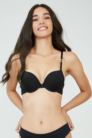 New Bunny Demi Bra Black