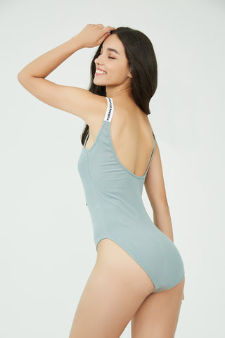 Downtown Gangster Bodysuit Green