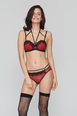 Nyctophilia Strapless Bra