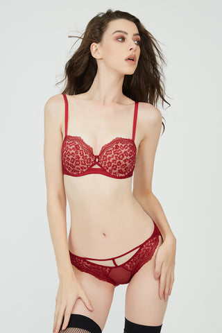 Janine Strapless & Multiway Bra Red