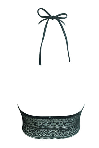 Kyra Donna Long Bralette Black