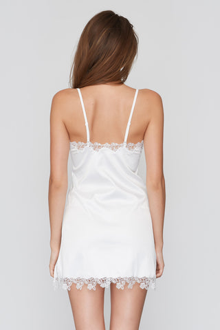 Harriet Bridal Slip & Babydoll White
